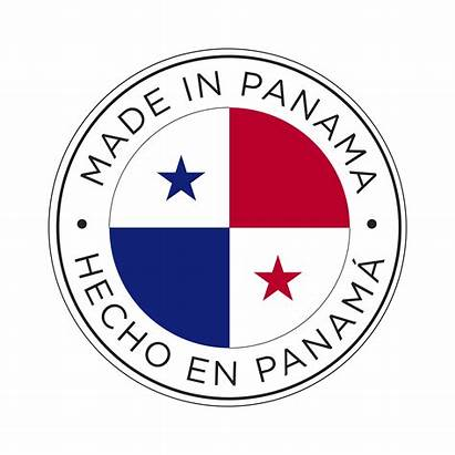 Panama Flag Icon Vector Clipart System
