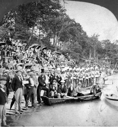 Chubachus Photographic Library History Intercollegiate Regatta Spectators