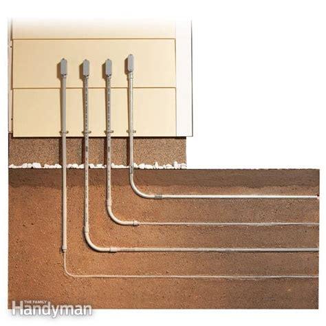 bury underground cable  family handyman