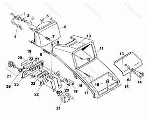 Polaris Atv 1995 Oem Parts Diagram For Headlight Assembly
