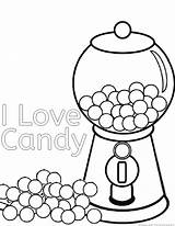 Coloring Candy Printable Candies Candyland Sweets Clipart Rapper Halloween Chocolate Apple Cane Result Pdf Castle Land Popular Library Heart Gingerbread sketch template