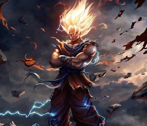 Camiseta Dragon Ball Z Goku Super Saiyan