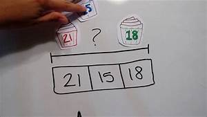 4 Strip Diagrams Add  Subtract