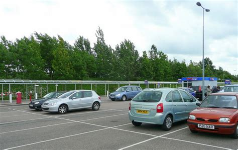 Car Rental Car Park, Stansted