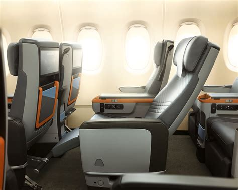 Singapore Airlines Premium Economy A380 Details About The