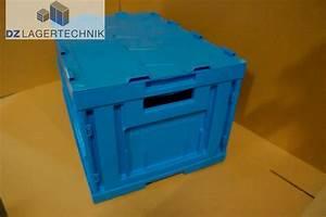 Kunststoffkiste Mit Deckel : klappbox fk 6320 mit deckel in blau von ssi sch fer 600x400x320mm dz lagertechnik ~ A.2002-acura-tl-radio.info Haus und Dekorationen