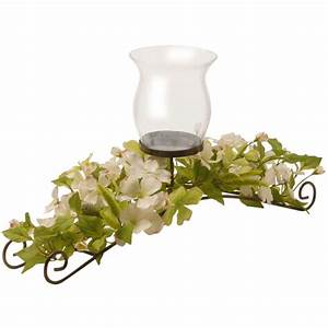 national tree company 26 in dogwood candle holder ed3 111 With kitchen colors with white cabinets with metal tree candle holder centerpiece