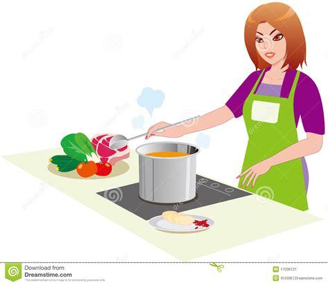 kamasoutra dans la cuisine le femme dans la cuisine illustration de vecteur