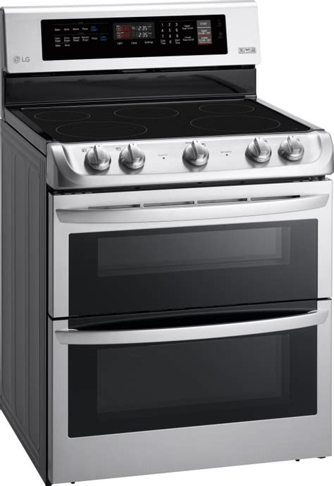 prices on kitchen cabinets lde4411st lg 30 quot dual oven electric range convection 4411