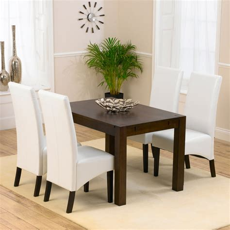 milan oak dining table and 4 verona chairs 13942
