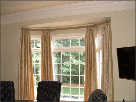 curved curtain rods for corner 30 best curtain rail for bay windows ideas uk home decor