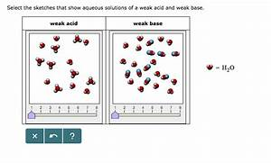 Solved  Select The Sketches That Show Aqueous Solutions Of