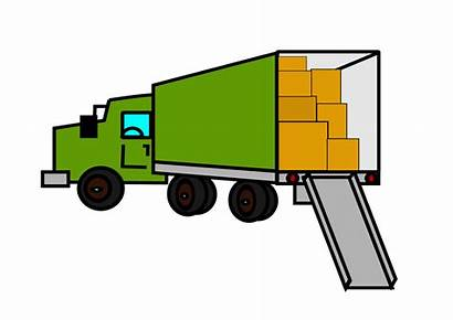 Moving Truck Clipart Bilde Movers Cliparts Shelf