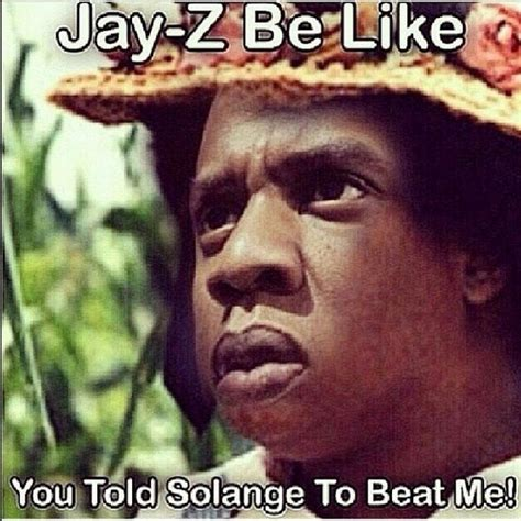 Jay Meme - solange doesn t talk about the elevator incident don t