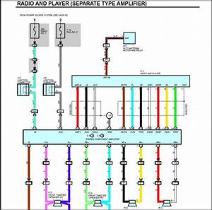 Single Din Wiring Diagram