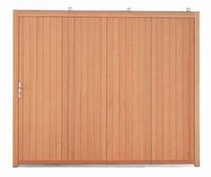 les portes de garage en bois With porte de garage coulissante en bois
