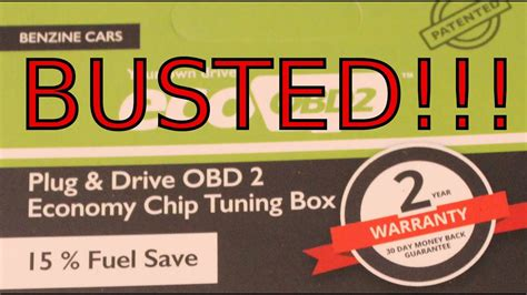 Eco Fuel by Eco Obd2 Fuel Saver Busted Voiding Warranties Ep 6