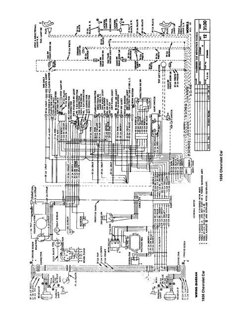 Chevy Truck Ignition Diagram by 56 Chevy Belair Wiring Diagram Wiring Diagram