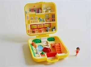 Vintage Polly Pocket 1989 / Polly Pocket yellow / School ...