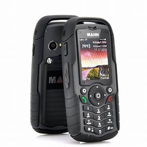Mann zug 1 rugged dual sim cell phone black waterproof for Rugged cell phones