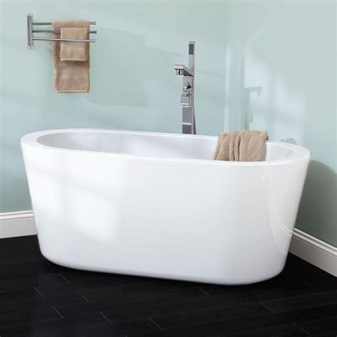 in the tub 55 quot abescon acrylic freestanding tub bathroom