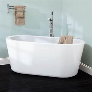 55, U0026quot, Abescon, Acrylic, Freestanding, Tub