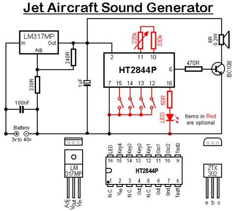 tone generator circuit diagram circuit and schematics
