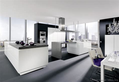 cuisine interiors pictures of kitchens modern white kitchen cabinets