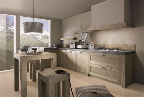 cuisine bois massif contemporaine cuisines contemporaines home logistic