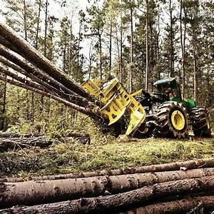 John Deere | Logging, swamp logging, Logging equipment ...
