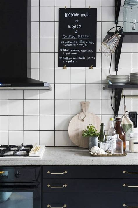 cuisine sympa le carrelage blanc 74 idées fantastiques pour le revêtement