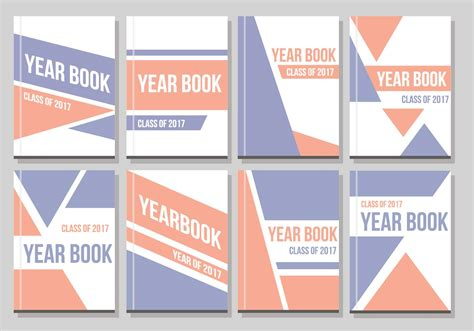 Free Layouts Free Yearbook Layout Vector Free Vector