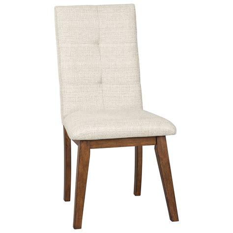 fabric side chairs benchcraft centiar dining upholstered side chair with 3652