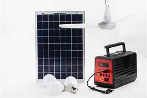 Dc v solar powered cooling ceiling fan energy home