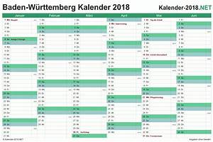 Kalender 2018 BadenWürttemberg