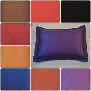 Bed pillow case queen standard king size covers polyester for Dreamfinity king size pillow