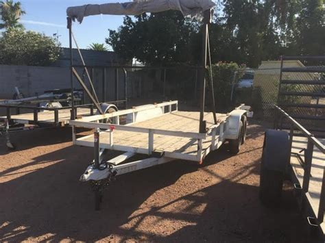 clearance flatbed dump utility  cargo trailers