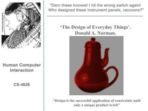 the design of everyday things ppt contextual design hugh beyer and holtzblatt