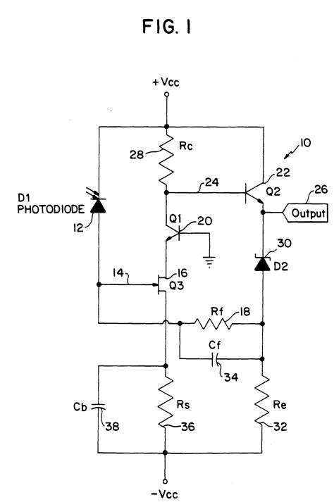 Patent Epb Transimpedance Amplifier Google Patents