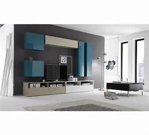 Meuble Tele Moderne : meuble tele moderne laque 4133 ~ Teatrodelosmanantiales.com Idées de Décoration