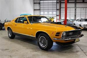 1970 Ford Mustang Mach 1 23904 Miles Grabber Orange Coupe 351 V8 3 Speed Automat - Classic Ford ...
