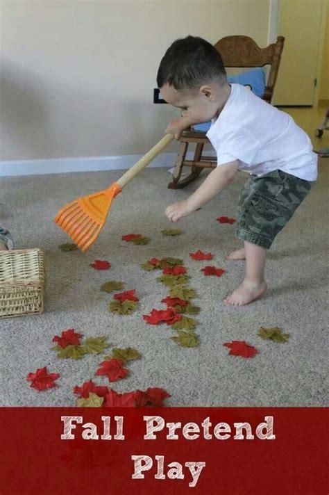 pretend raking leaves up fall preschool pretend 876 | 1ab562a6df1544e2e56a1da5e484e75a fall preschool activities outdoor activities