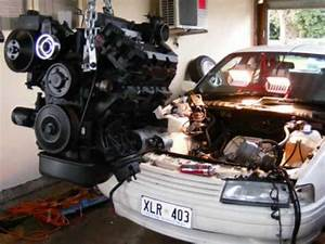 Vn    Vp Commodore Head And Cam Engine Swap