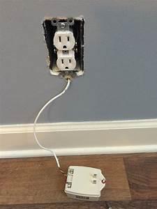 Receptacle - Rewiring My Security Alarm Power Source