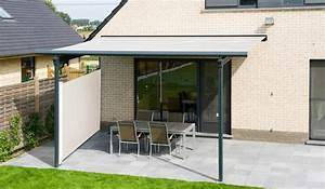 Store Pour Terrasse : store banne combinaison store et pare vent brustor ~ Premium-room.com Idées de Décoration