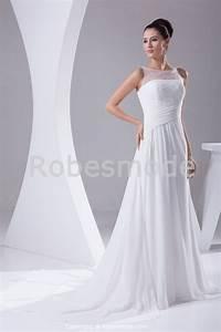 robe de mariee elegante decration perlee et drapee en With robe de mariée élégante