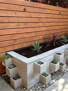 Cinder block garden ideas – furniture, planters, walls and ...