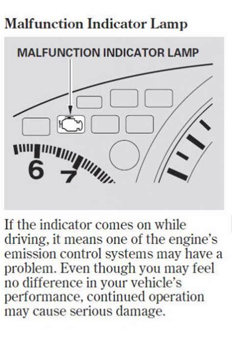 malfunction indicator l honda 2013 honda accord warning light autos weblog