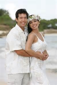 hawaiian wedding hawaiian wedding dresses matching groom shirts wedding ideas for me hawaiian