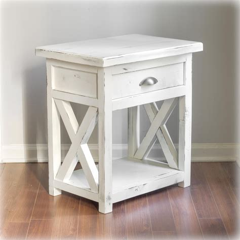 Farmhouse Nightstand by Carolina Nightstand Farmhouse Handcrafted By Overlin